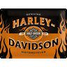 Harley-Davidson Logo Signo de Póster Dealer Cuadro Decoración Emblema BAR &