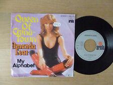 "AMANDA LEAR – Queen of China-Town, 7"", vinyl: VG + +"