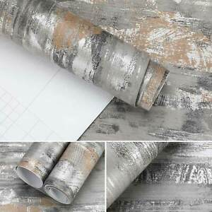 5M Klebefolie BetonOptik Selbstklebende Dekofolie für Möbel Tür Wand Wandtapete