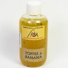 RBA Toffee Banana 100ml Bottle Glug Liquid Boilies Carp Fishing Bait Attractant