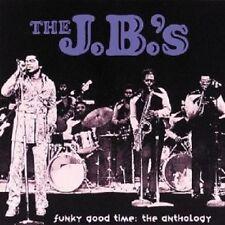 THE J.B.'S - FUNKY GOOD TIME/ANTHOLOGY  2 CD  30 TRACKS POP / R&B BEST OF  NEU