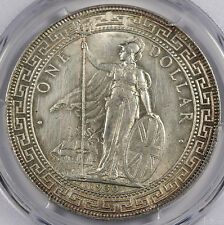 Great Britain UK 1930 TRADE DOLLAR in China $1 Silver Coin PCGS AU Choice
