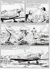 MELLIES : BIGGLES EN AFRIQUE SUPERBE PLANCHE ORIGINALE ARTIMA PAGE 59