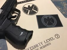 • SHIELD • TACTICAL VEST PATCH • COSPLAY AGENT PVC PROP • AVENGERS MARVEL •