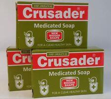 3x Crusader Medicated Soap / Seife (3x80g)