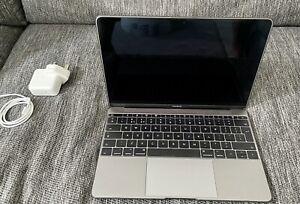 Apple 12-Inch MacBook (2017) Space Gray – 1.2GHz Intel Core m3   8GB  SSD 256GB