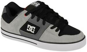 DC Pure Shoe - Black / Grey / Red - New