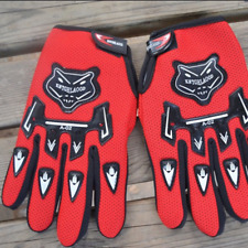 Motorcycle Perforated Leather Mesh Gloves Men's Harley Touch Screen Fingertip L