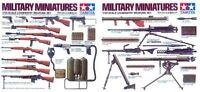 Tamiya 35121 1/35 Scale Military Model Kit WWII U.S Army Infantry Weapons Set