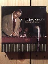 Bags of Soul by Milt Jackson (CD, May-2007, 4 Discs, Proper Box (UK))