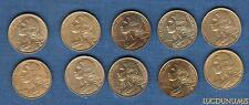 Vème République, 1959- -G Lot de 10 pièces de 10 Centimes Marianne TB à SUP (POR