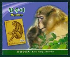 KOREA BOOKLET 2016 FAUNA MONKEYS MONKEY RARE !!! /m2261
