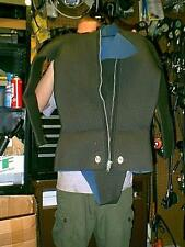 VINTAGE RUBBER WETSUIT WITH TOP & pants & hood & socks & gloves CUSTOM MADE