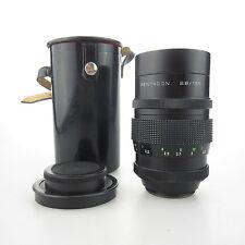 M42 Pentacon 2.8/135 (wie Meyer Orestor) Objektiv / lens + case