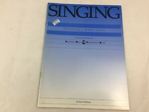 AMEB - Singing - Technical Work Book  - Music Book - (D)