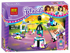 Friends Space Ship Amusement Park figure Building Block Girl Friends Toy 10556