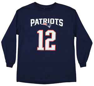 Outerstuff NFL Youth New England Patriots Tom Brady #12 Mainliner Tee