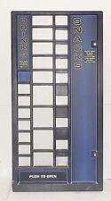 Antares Edina Vending Machine : Snack Selection Door Assembly {P1395}