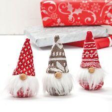 3 Scandinavian Danish Swedish Style Elf Tomte Nisse Gnomes  #8447