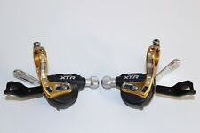 SHIMANO XTR SHIFTERS / GEAR LEVERS 9 SPEED TRIPLE MTB MOUNTAIN BIKE SL-M970