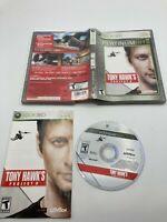 Microsoft Xbox 360 CIB Complete Tested Tony Hawk's Project 8