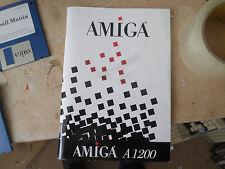 Amiga 1200 3.1 Sistema Original Commodore manual en GC