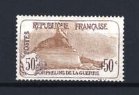"""FRANCE STAMP TIMBRE N° 153 """" ORPHELINS 50c+50c LION BELFORT """" NEUF xx LUXE T426"""