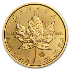 2019 1 oz Canada Gold Maple Leaf Coin BU - SKU #180471