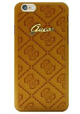 Guess Scarlett Hard Case for iPhone 6 / 6s (4.7 inch) Cognac (GUHCP6SCCO)