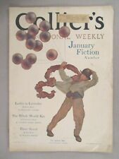 Collier's Magazine - December 26, 1908 ~~ Maxfield Parrish cover art