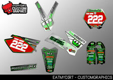 KTM 85 2005-2012 FULL CUSTOM GRAPHICS KIT STICKERS MOTOCROSS DECALS MX MOTOCROSS