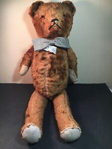 """Unique Vintage Handmade Teddy Bear 20"""""""