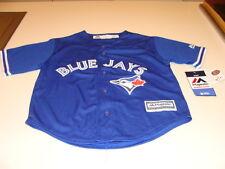 Toronto Blue Jays Infant Kids ребенка среднего возраста 5/6 Джерси классный база синий альт MLB