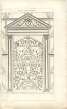 1840 Ancient Roman Ornament 2