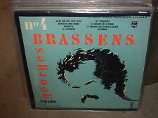 """GEORGES BRASSENS et sa guitare ( world music ) - 10"""" - philips -"""