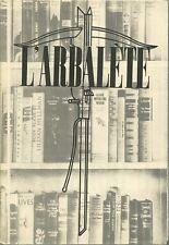 GERTRUDE STEIN  L'ARBALETE 9 EXPL NUM STEIN CHENEY HEMINGWAY H. MILLER CALDWELL
