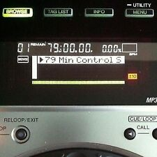 79 Minutes Serato DJ Scratch Live Custom Time Code Control Signal 2 CD  Link d/l