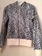 2 Sided Women Hoodie Sweater Size S Animal Print
