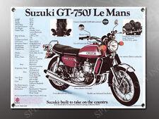 VINTAGE SUZUKI PE400 ENDURO THE PERFORMER BANNER