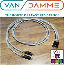 Van Damme Silver series loCap 55pF 1.2m- locking style RCA