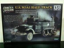 Forces of Valor Kit di Montaggio 1:72 U.S. M3A1 HALF-TRACK 46th 1945 MIB, 2011