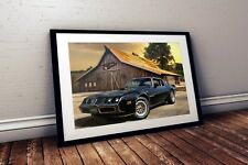 W886 Hot Rod Cars Silk inch Muscle Car New Art Poster 40 12x18 24x36