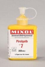 Mixol #7 Canary Yellow Universal Tint 200ml Bottle