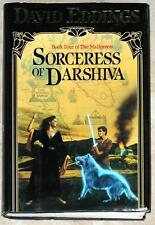 SORCERESS OF DARSHIVA ~ BOOK 4 OF MALLOREON ~ DAVID EDDINGS ~ HC ~ FIRST EDITION
