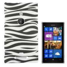 HardCase Schutzhülle für Nokia Lumia 925 Zebra Style schwarz weiß Hülle Cover
