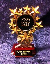 New Resin Custom award trophy Starburst FREE Engraving