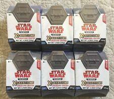 Disney Star Wars Science Xcavations Creature Crates Series 1 Lot Of 6