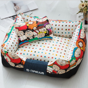 Cat and Dog Bed Cushion Sofa Bed Mat Free shipping  Removable cover  D131