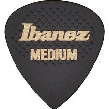 IBANEZ LOT DE 2 MEDIATORS GRIP WIZARD PICKS GOMME NOIR MEDIUM 0.75mm