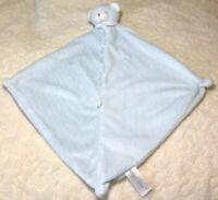 Angel Dear Lovey Sleeping Baby Blue Teddy Bear Security Blanket Soft Cuddly